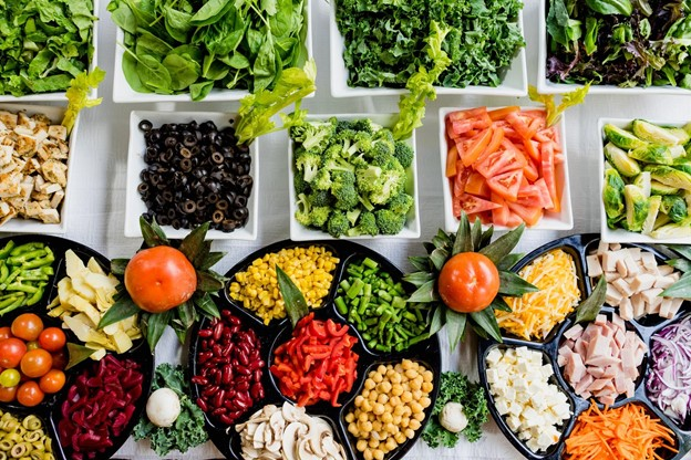 Array of Vegetables